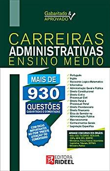 Gabaritado e Aprovado - Carreiras Administrativas (Ensino Médio)