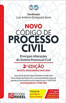 Novos Comentários dos Artigos do Novo Código de Processo Civil