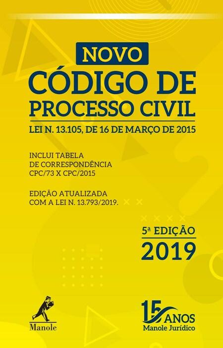 Novo Código de Processo Civil